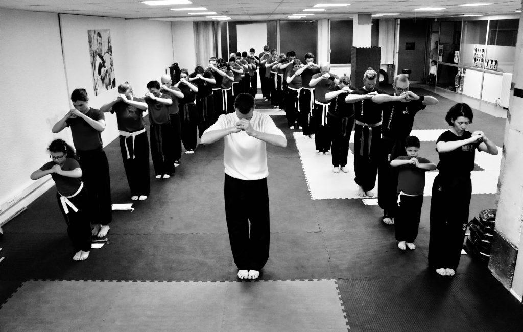 Au Kung Fu, le respect est de rigueur