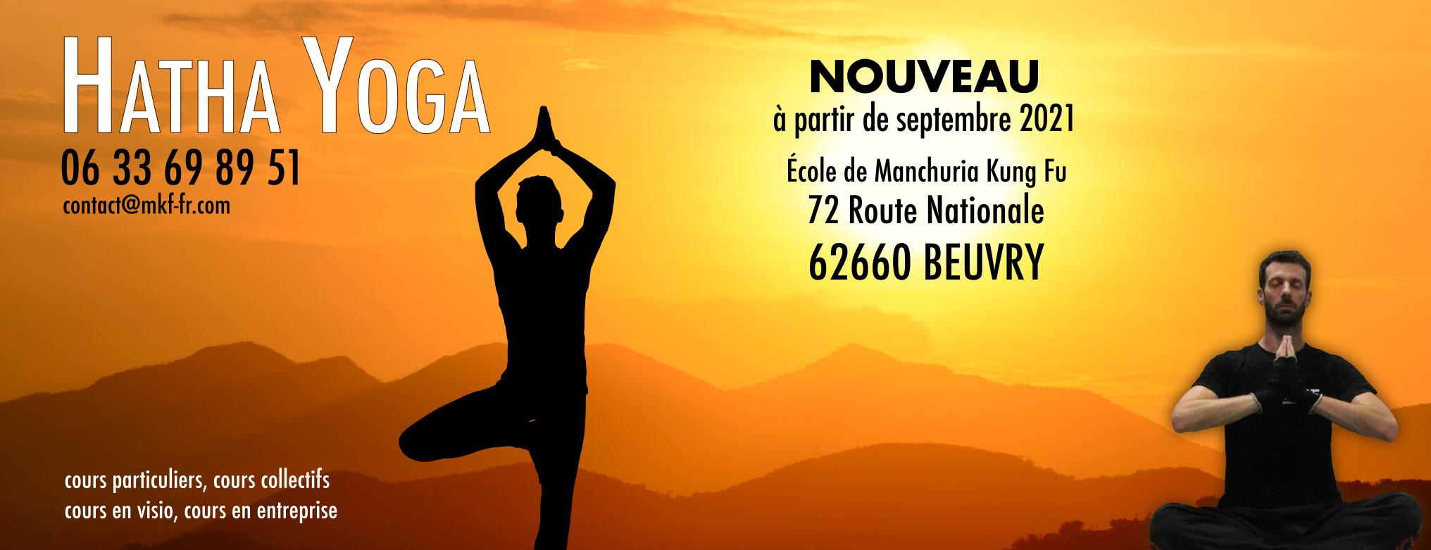 Nouveau : Hatha Yoga à beuvry